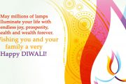 May millions of lamps illuminate your life