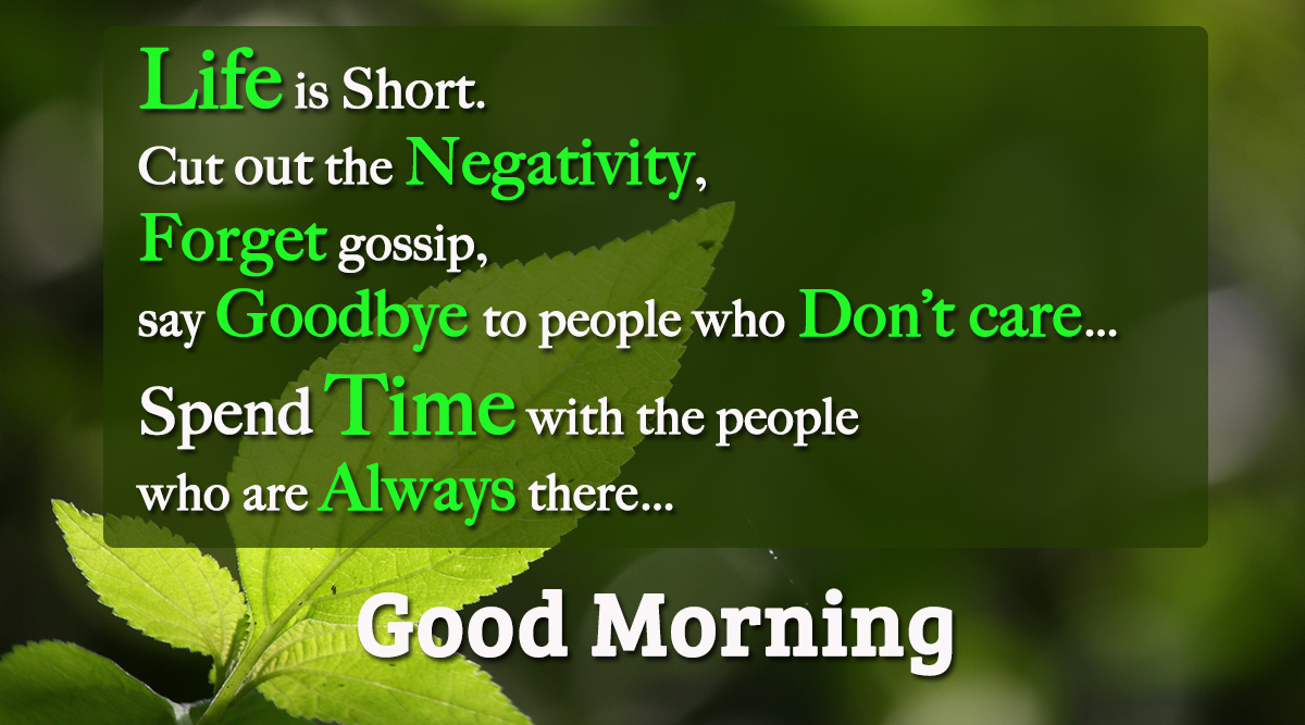 Good Morning Quotes For Someone Special By Pinterest: Good Morning Life