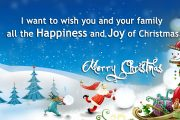 happiness and joy of christmas