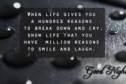 show life that you have million reasons to smile