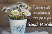 today ia a gift good morning