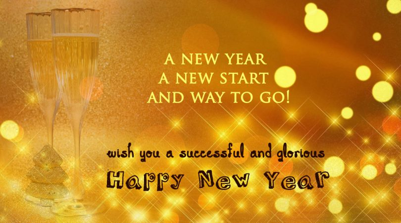 wish you a successful and glorious happy new year