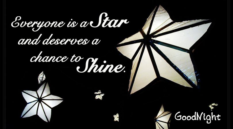 Everyone deserves to Shine