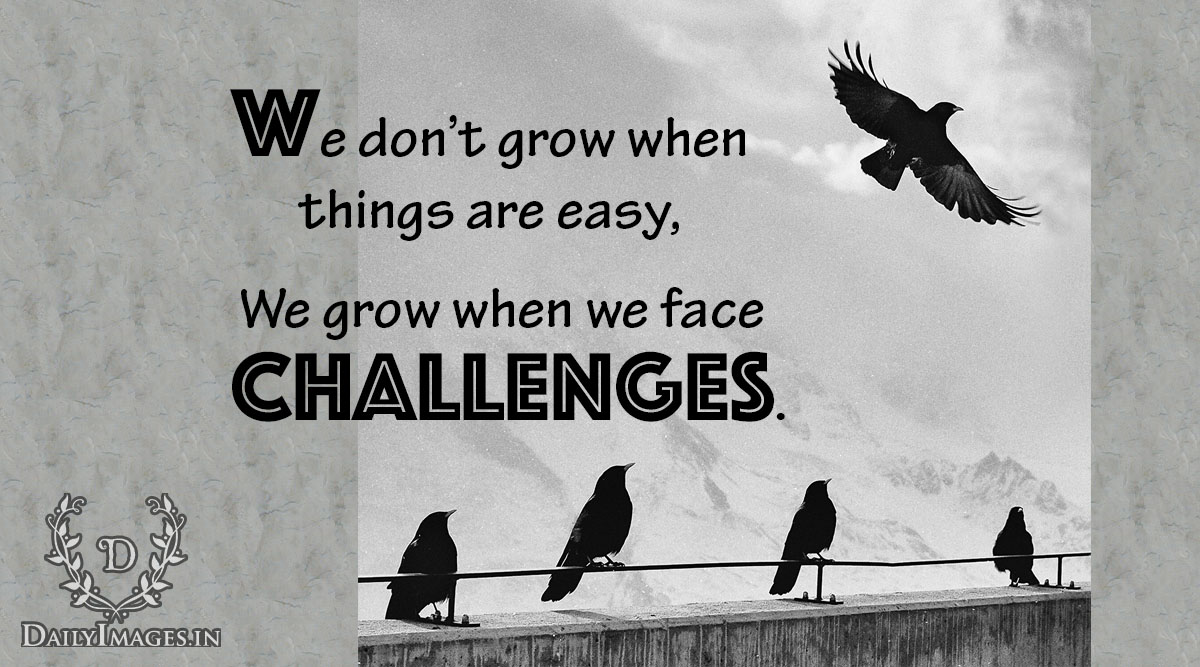 how to grow from challenges