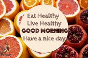 eat healthy Live healthy
