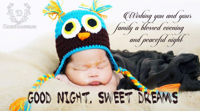 Wishing you and your family a blessed evening and peaceful night