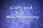 every-end-is-a-new-beginning