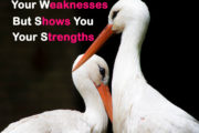 A True Friend Knows Your Weaknesses but shows you your Strengths