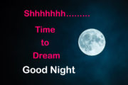 Shhhhhh....Time to dream...Good Night